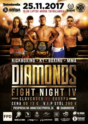 DIAMONDS FIGHT NIGHT 4 - výsledky