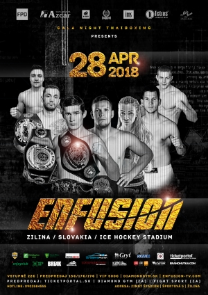 ENFUSION SLOVAKIA 2018 - fight card