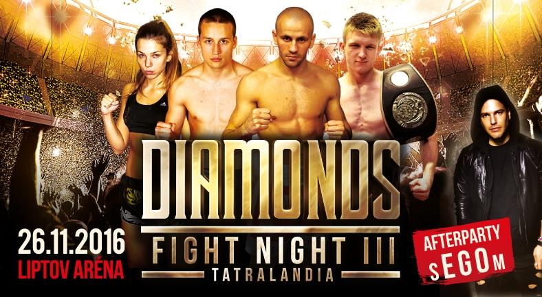 IDIAMONDS FIGHT NIGHT 3 - prvé informácie